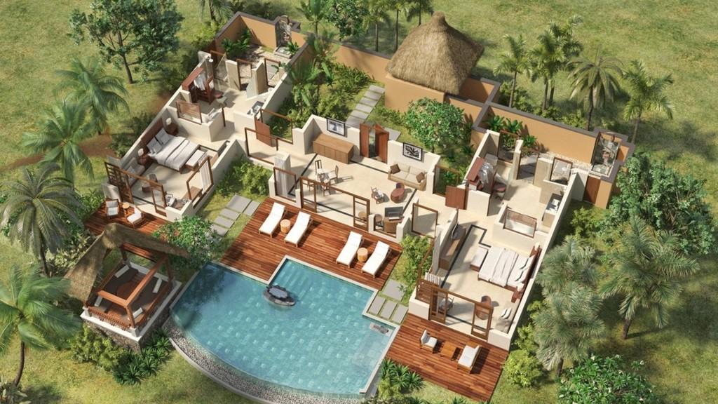 Shanti Maurice Double Suite Villa